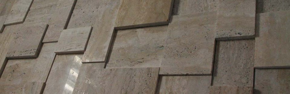 CLASSIC TRAVERTINE - 3D PANELS